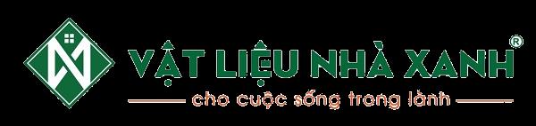 logo vật liệu nhà xanh