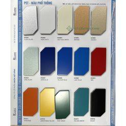 Bảng màu alu alcorest - Màu phổ thông