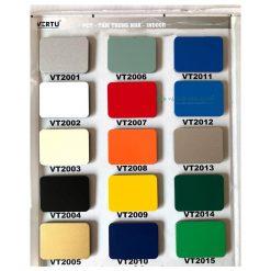 Bảng màu tấm alu Vertu trong nhà