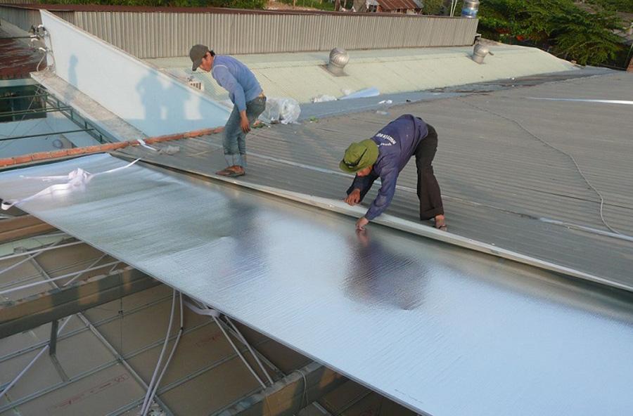 Top 6 tấm cách nhiệt chống nóng mái tôn hiệu quả nhất